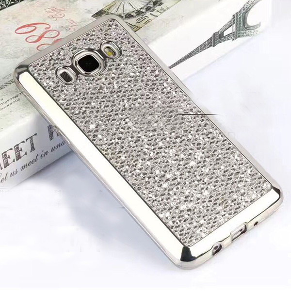 2017 New cell phone bling case cover glittering Soft PC case design for Samsung galaxy G360 G530 I9082 On5 for Huawei P8 P9 P9lite Y5ed Y6ed