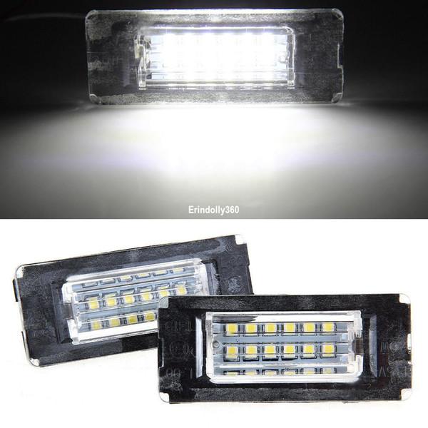 2x 18 LED 3528 SMD Luce targa posteriore Lampadina per BMW Mini R56 Risparmio energetico