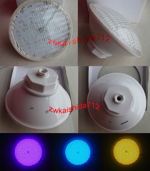 Wholesale- Underwater Led Sales Swimming pool Light SMD252leds 18W AC12V RGB PAR56 Lamp Bulb Color Changing Fountain Lamps