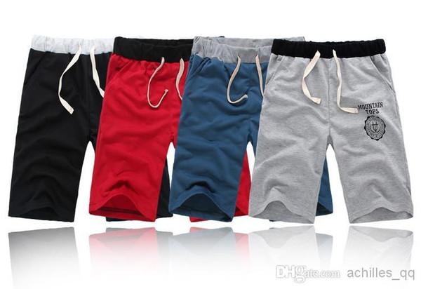 top popular K-05 Free Shipping 2017 New Arrival Men's Shorts Summer Casual Shorts Pants Sports Loose Shorts Half Pants 2019