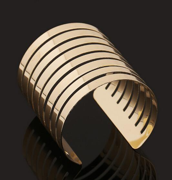 Bracelets& Bangles Fashion Women Jewelry Metal Multilayer Strings Wristband Cuff Bangle Bracelet