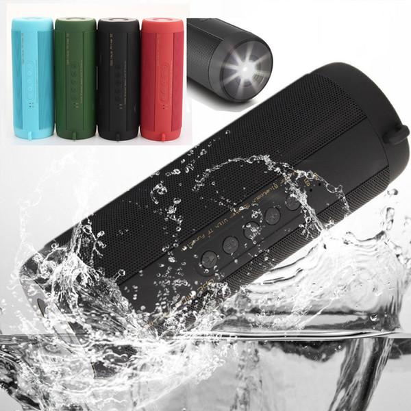 Bluetooth Speaker Super Bass T2 Outdoor Sport Waterproof Mini Portable Wireless Bicycle Loud speakers Support FM Radio,Flashlight