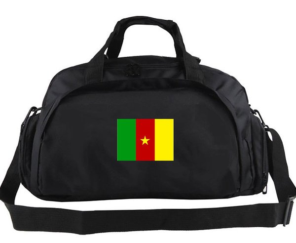 Cameroon duffel bag Enthusiast daily tote Country team flag luggage Football club duffle Handle backpack Sport sling handbag