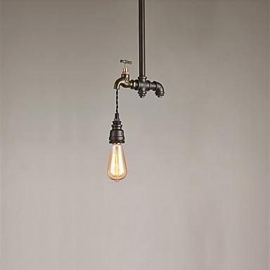 Amerikanischen Stil Loft Vintage Leuchten Wasserleitung Lampe Retro Industria Pendelleuchte Edison Birne Restaurant Pendente De TeTo Lampen