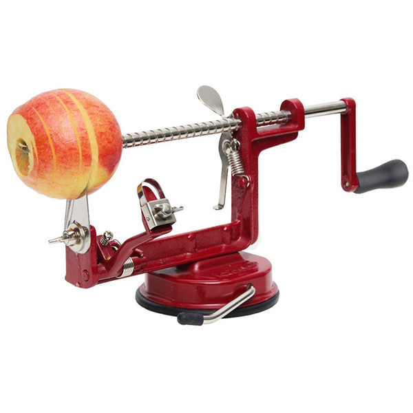 3 in 1 Fruit Vegetable Apple Potato Peeler Corer Slicer Slicing Machine Stainless Steel Creative Home Kitchen Tool