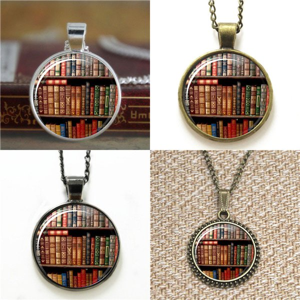10pcs vintage books Glass Photo Cabochon Necklace keyring bookmark cufflink earring bracelet