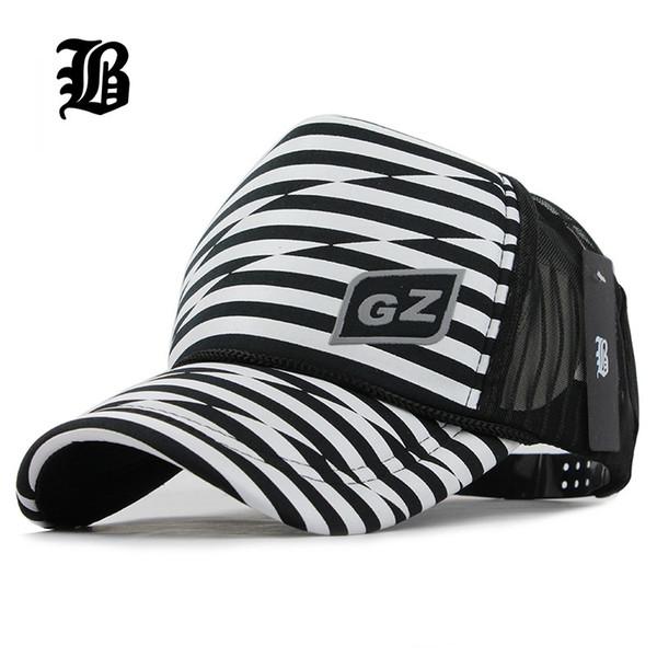 4b9fe1785b1 Wholesale-  FLB  Men Women 2017 Summer Snapback Mesh Baseball Cap Sun Hat 5