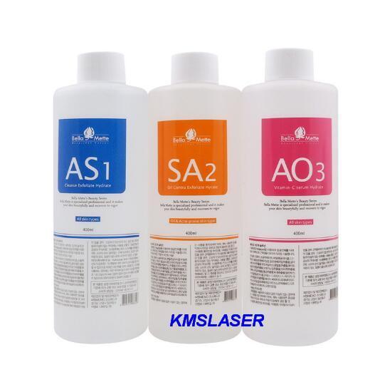 Aqua peeling olution 400ml per bottle aqua facial erum hydra facial erum for normal kin