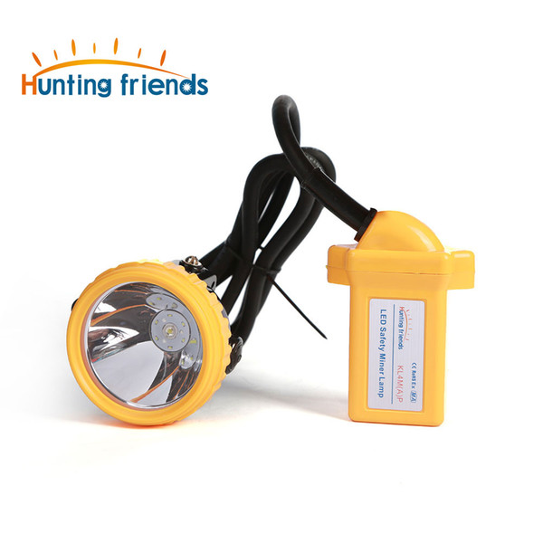 10pcs/lot New Safety Miner Lamp KL4M(A).Plus Rechargeable Headlamp Explosion Rroof headlight Cap Lamp for outdoor soports
