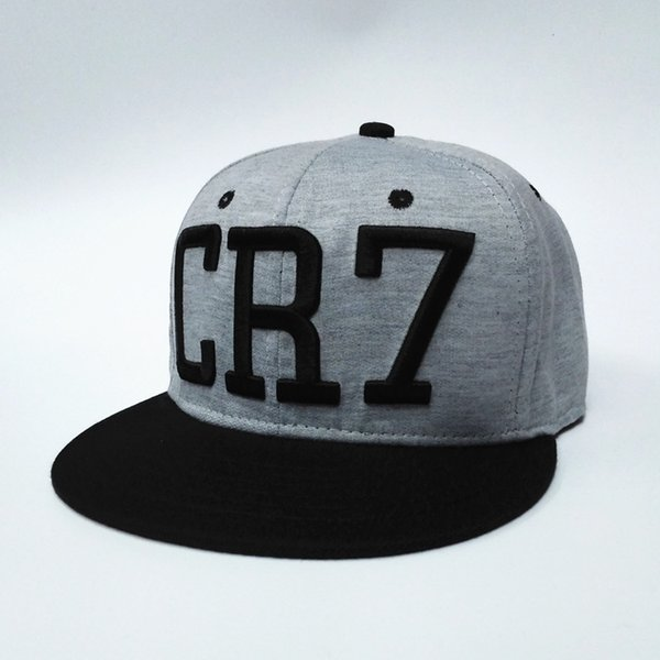super qualità metà fuori shopping 2017 New Cristiano Ronaldo Gray CR7 Baseball Caps Hip Hop Sports ...