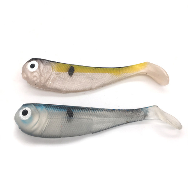 Weiyu 8.5cm Fishing Lure Soft Bait Worm Lure Soft Plastic Swimbait Fishing Lure Fish Bait Fish Shape Fishing tackle