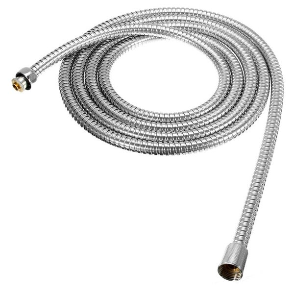 best selling The Best Quality Long Stainless Steel 1 2 inch Bath Shower Flexible Hose Pipe Bathroom Product Easy To Install For 3m Length