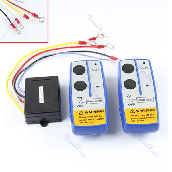 Wholesale- 1Pc 50ft Wireless Winch Remote Control Switch Handset Kit For Jeep ATV SUV UTV 12V-50PA