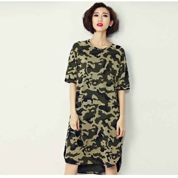 2016 New Arrival Korean Style Women Summer Mini Dresses Round Neck Short Sleeve Fashion Ladies Tunic Oversize Slim Robe Elbise