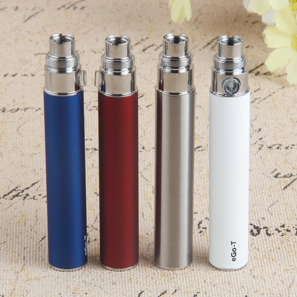 510 Thread eGo T Vape Pen Battery 650 900 1100 mAh Evod eCig & USB Charger for CE6 CE5 CE4 CE3 H2 Atomizer Cartridge
