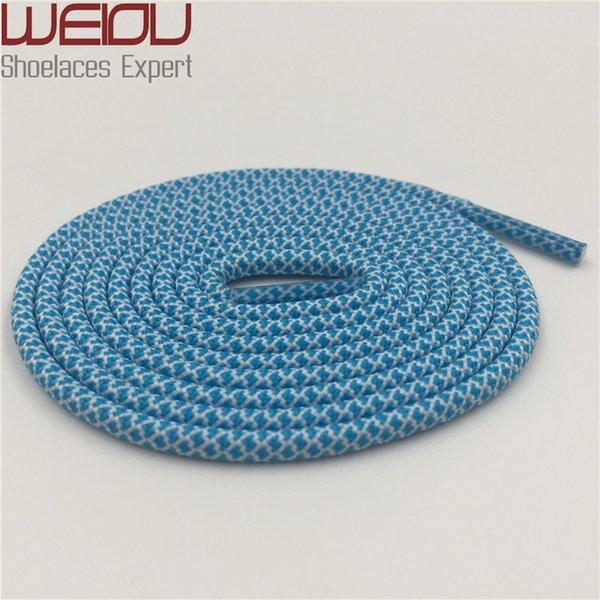 50 Turquoise blue White 140cm