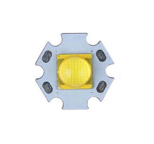 Flashlight Electronic diy LED Emitter CREE MT-G2 5000-6500K LED with 20mm Heatsink Aluminum base cree MTG2 LED Star (6V)