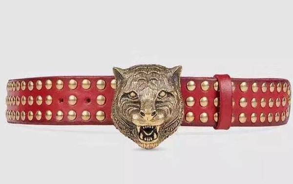 2018 Hot fashion big buckle belts for men genuine leather brand luxury belt designer belts Men high quality belt with box