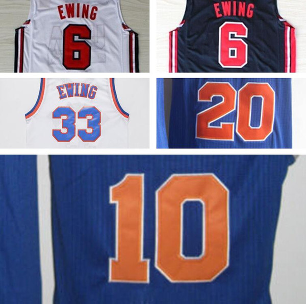 best loved a7171 fae1c 2019 Cheap Mens Throwback Blue John Starks Walt Frazier Mark Jackson 14  Anthony Mason 19 Willis Reed 20 Allan Houston 33 Patrick Ewing Jersey From  ...