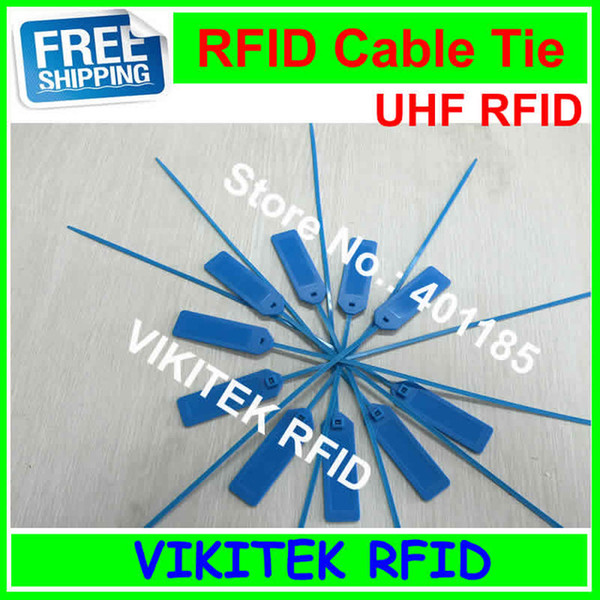 Toptan Satış - Alien authoried 9662 UHF RFID ABS kablo Kravat etiketi 860-960 MHZ Higgs3 915M EPC C1G2 ISO18000-6C 20 adet 92 * 28 * 3.5mm