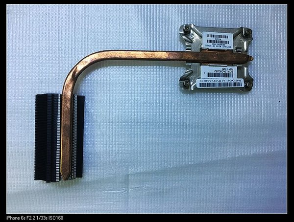 Original pour hp 4440s 4441 4540S ordinateur portable UMA CPU radiateur de refroidissement avec ventilateur 683656-001 344SI06011