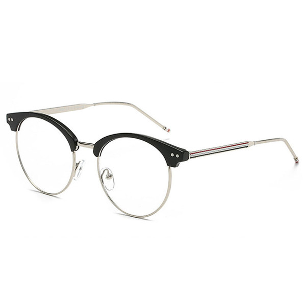 D.King Fashion Alloy Rectangular Full Frame Vintage Metal Wire Eyeglass Frames Retro Clear Lens Eyewear Glasses Frames Men Women