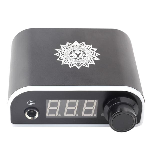 1Pcs New Black Color LED 3 Digital Display Tattoo Power Supply For Tattoo Kits Permanent Makeup Power Supply Tattoo