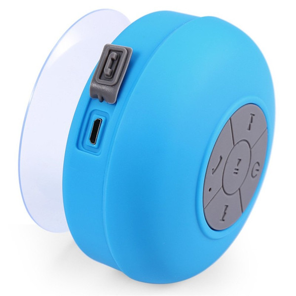 2019 Wholesale Portable Subwoofer Wireless Ipx4 Waterproof Shower Speakers Bathroom Speaker Bluetooth Handsfree Stereo Music Sound For Phone From