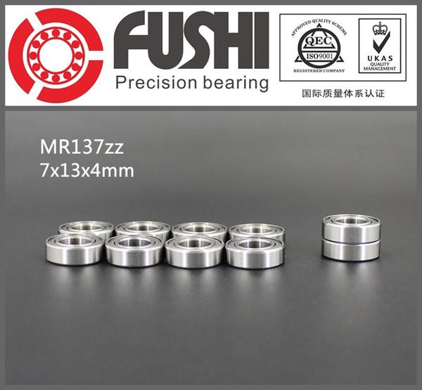 Roulement MR137ZZ ABEC-1 (10PCS) 7 * 13 * 4 mm Roulements à billes miniatures MR137 ZZ L1370ZZ MR137 Z 7x13x4 mm