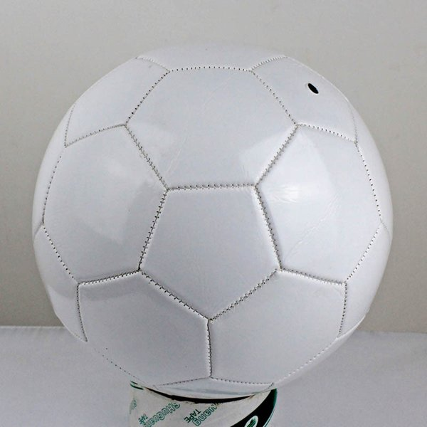 best selling White Size 5 PVC Football for Children Toy Match Training Soccer Ball DIY signature painting ball