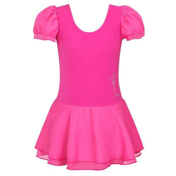 2017 Girls Tutu Dress Cotton Leotard Dress Ballet Costume Dance Tutu Stage Dance Wear for 3-13Y Children