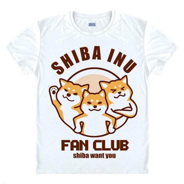Anime Shirt Doge Meme T-Shirts Multi-style Short Sleeve Kabosu ShibaConfessions Shiba Cosplay Motivs Hentai Shirts