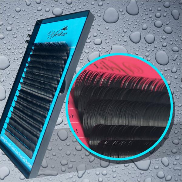 Wholesale- 1 Mix Trays Cilios Posticos Natural False Individual Eyelashes Mink Fake Eye Lashes Extension Eyelash Faux Cils Lash Wimpers Set