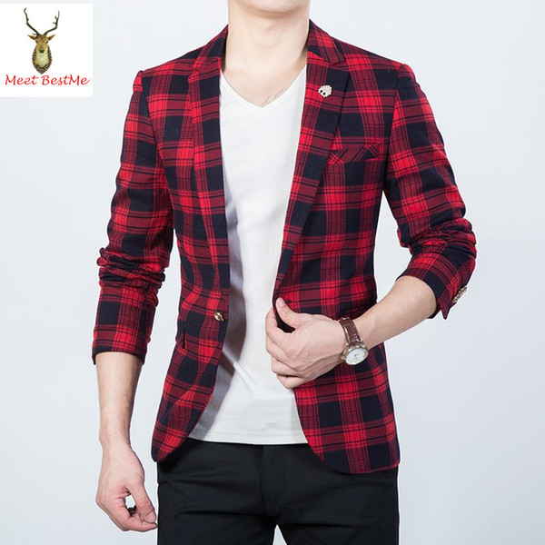 giacca a quadri rossa e nera