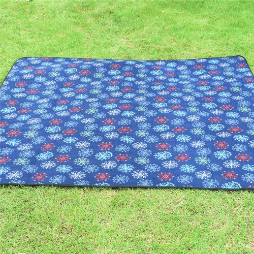 59 '' 79''Outdoor plage pliante tapis de camping couverture en daim imperméable à l'eau de pique-nique tapis rembourré tapis de voyage matelas