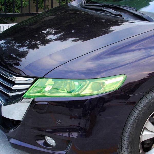 Estilo do carro 13 Cores 30x180 cm Etiqueta Do Carro Para Auto Farol de Luz Traseira farol Protetor de Filme Lâmpada Adesivos de Carro Acessórios CJ
