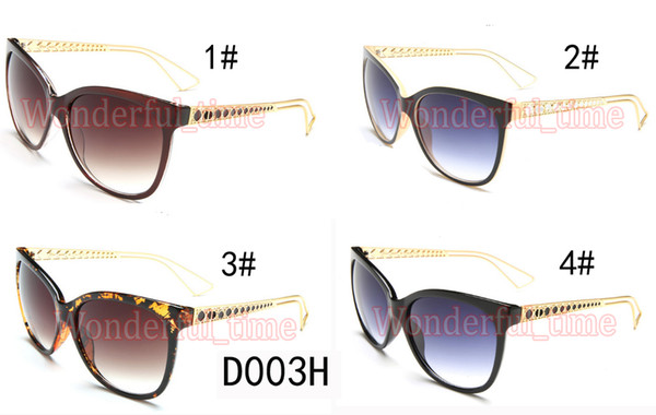estate nuovi uomini classici della moda occhiali da sole occhiali da sole donna ciclismo all'aperto occhiali da sole ampia cornice occhiali scuri 4 colori spedizione gratuita