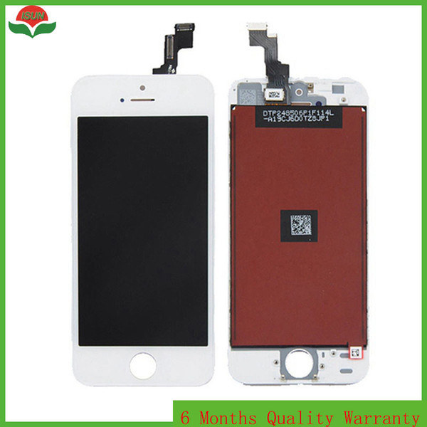 Replacement For iPhone 4/4S LCD Display LCD Digitizer Touch Screen Assembly No Dead Pixel DHL Free Shipping