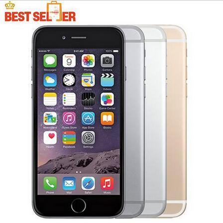 Refurbished Unlocked Original Apple iPhone 6 Plus without fingerprint 16GB 5.5 Screen IOS 8 3G WCDMA 4G LTE 8MP Camera Mobile Phone