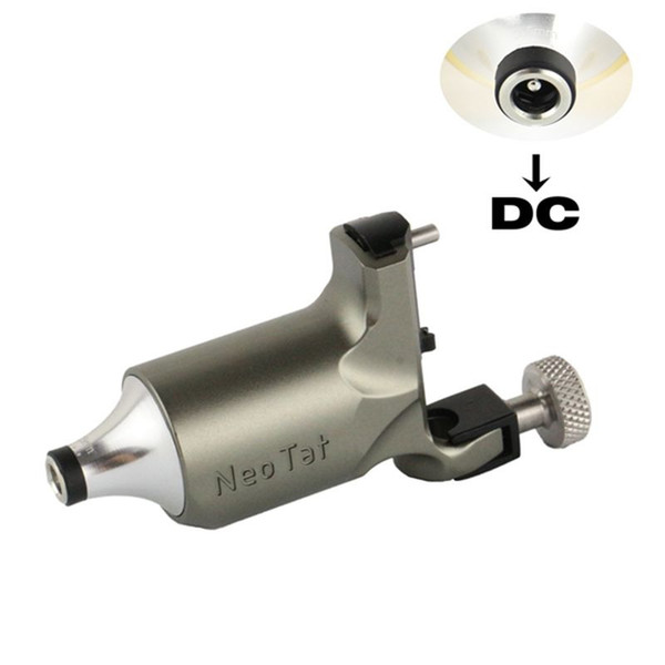 Newest NeoTat Rotary Tattoo Machine Original Best Quality Gray Color Permanent For Tattoo Artist Free Shipping