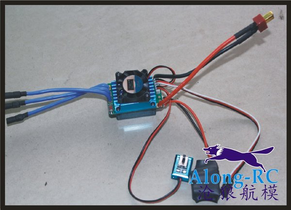 FREE SHIPPING RC MODEL PART Racing 35A ESC Brushless Electric Speed Controller For 1:12 1:10 RC Car Truck