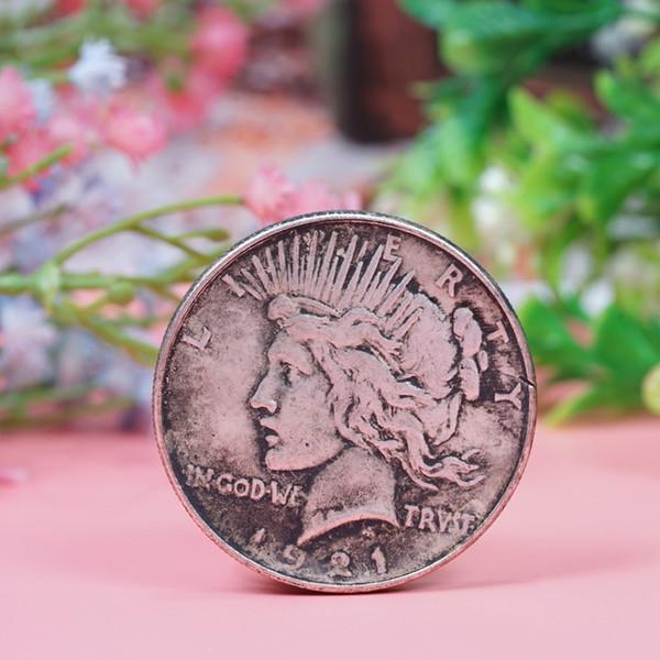 1921 Statue de la liberté des pièces de monnaie Eagle Eagle