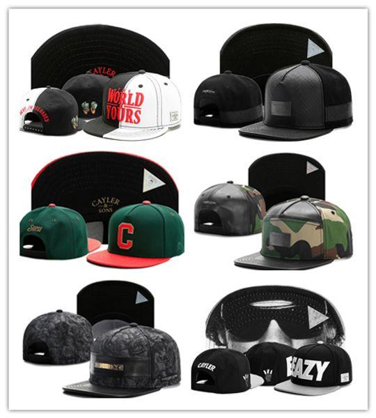 2017 Sommer Hysteresen baseball Hüte Fashion Street Headwear einstellbare größe Cayler Sons benutzerdefinierte fußball baseball caps Kostenloser Versand