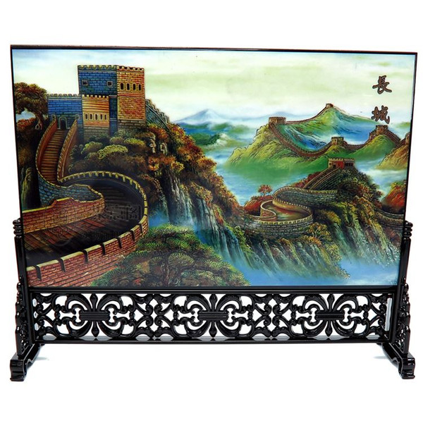 Post wooden wooden ware, screen, table, Chinese wind, business gift, conference, exhibition, souvenir, foreign affairs gift