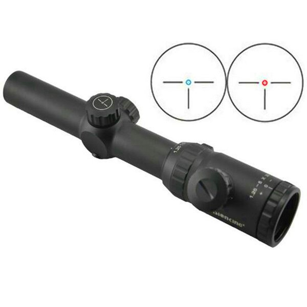 Visionking 1.25-5x26 Rifle Scope IR Hunting 30 mm three-pin with 21mm mount rings Riflescope Good Quality