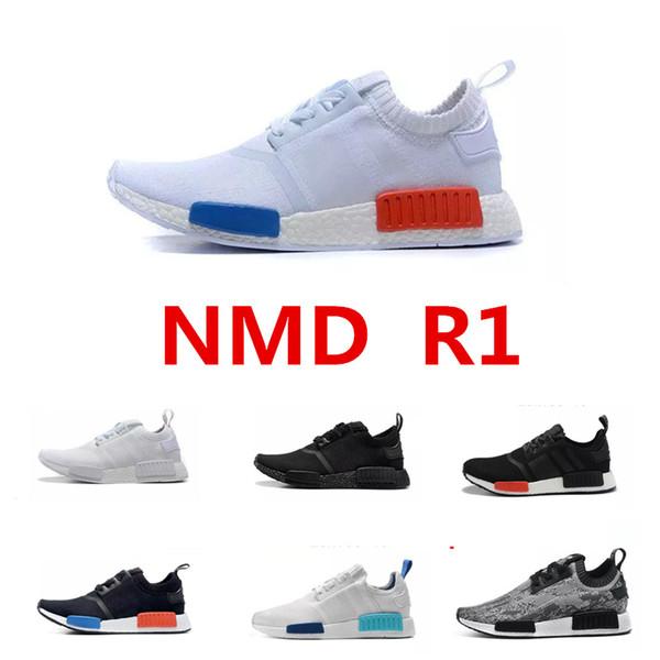 Mens Adidas NMD R1 Primeknit OG Black Size 9