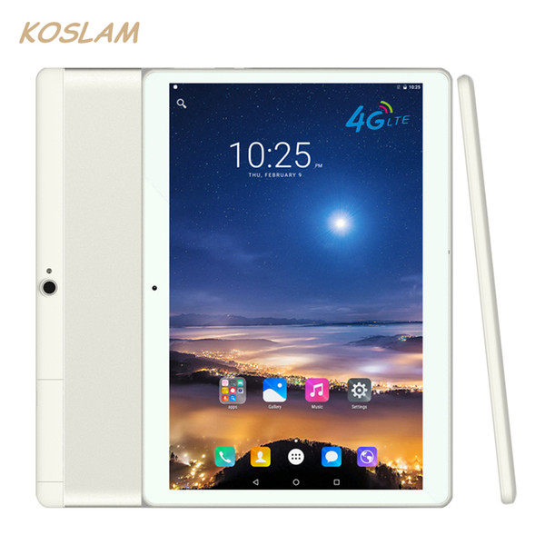 "Wholesale- New 10.1 Inch Android 6.0 Tablets PC 1920x1200 IPS Quad Core 2GB RAM 16GB ROM Dual SIM Card 4G LTD FDD Phone Call 10.1"" Phablet"