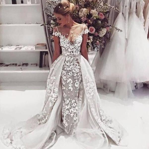 sexy schiere Brautkleider