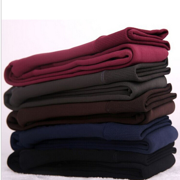 top popular 2017 New Fashion Women's Autumn And Winter High Elasticity And Good Quality Warm Leggings Thick Velvet Pants Free shipping 03 2019