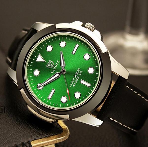 Black green dial